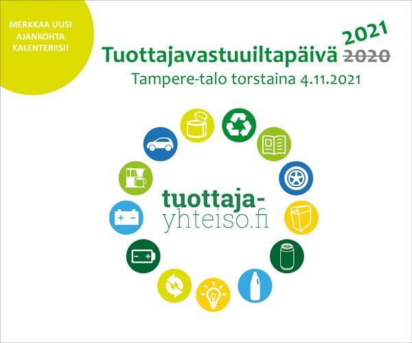 Tuottajavastuuiltapäivä 2021 Tampereella 4.11.2021